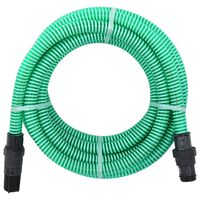 vidaXL Imuletku PVC-liittimillä 7 m 22 mm vihreä