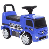 vidaXL Potkuauto Mercedes-Benz kuorma-auto sininen