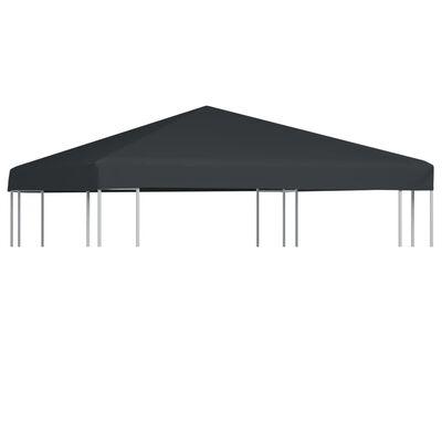 vidaXL Huvimajan katto 310 g / m² 3x3 m harmaa