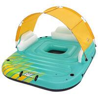 Bestway 5-hengen täytettävä uimapatja saari Sunny Lounge 291x265x83 cm