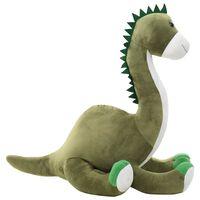 vidaXL Dinosaurus brontosaurus pehmolelu plyysi harmaa