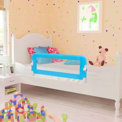 Turvalaita lapsen sänkyyn 102 x 42 cm sininen, Sininen
