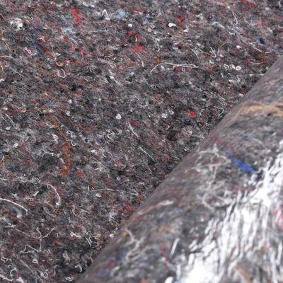 vidaXL Liukumaton maalarin fleece 50 m 180 g/m² harmaa