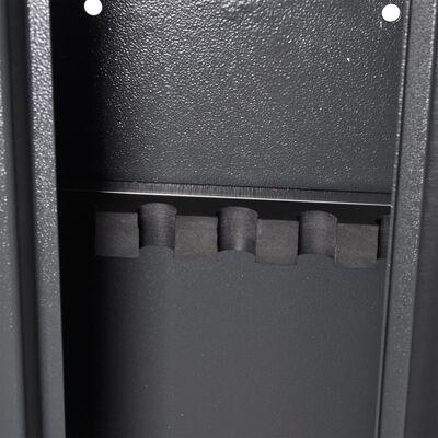 vidaXL Asekaappi ammuslaatikolla 3 aseelle