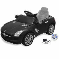 Sähköinen Istuttava-auto Mercedes Benz AMG Musta 6V Kauko-ohjaus