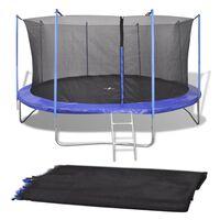 Turvaverkko 4,57 m pyöreään trampoliiniin