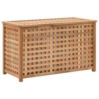 vidaXL Pyykkiarkku 77,5x37,5x46,5 cm pähkinäpuu