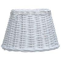 vidaXL Lampunvarjostin paju 30x20 cm valkoinen