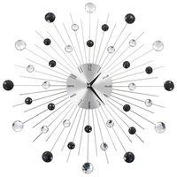 vidaXL Seinäkello kvartsikoneisto moderni muotoilu 50 cm
