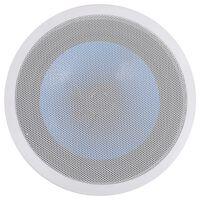 vidaXL Upotettava seinäkaiutin diskanttikaiuttimella 180 W