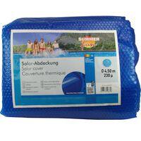 Summer Fun Sommer Poolabdeckung Solar Rund 450 cm PE Blau