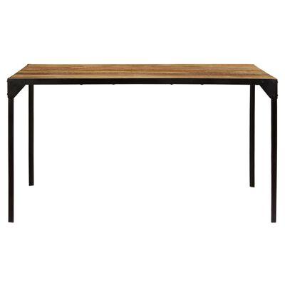 vidaXL Ruokapöytä 140x140x76 cm mangopuu