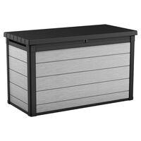 """Keter Garden Storage Box """"Denali"""" 757L Anthracite"""