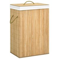 vidaXL Bambu pyykkikori 72 l