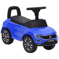 vidaXL Potkuauto Volkswagen T-Roc sininen