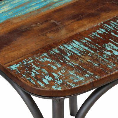 vidaXL Ruokapöydän tuolit 4 kpl täysi uusiokäytetty puu