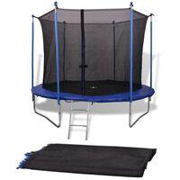 Turvaverkko 3,05 m pyöreään trampoliiniin