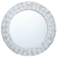 vidaXL Peili valkoinen 60 cm paju
